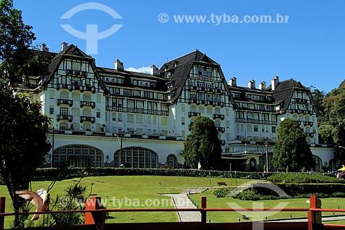Assunto: Palácio Quitandinha (1944) - também conhecido como Hotel Quitandinha / Local: Quitandinha - Petrópolis - Rio de Janeiro (RJ) - Brasil / Data: 08/2013