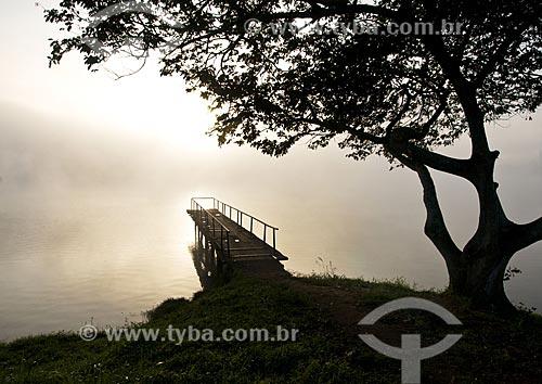 Assunto: Píer na Represa de Furnas / Local: Boa Esperança - Minas Gerais (MG) - Brasil / Data: 07/2013