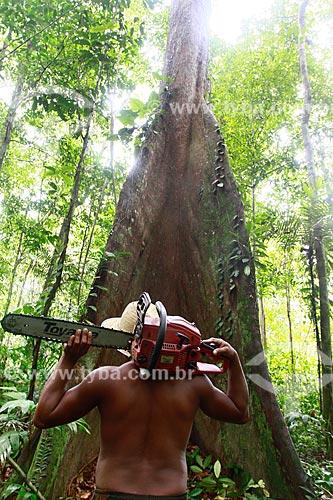 Assunto: Desmatamento na Reserva Florestal do Ubim, na Estrada AM-070 que liga Manaus ao Município de Manacapuru / Local: Amazonas (AM) - Brasil / Data: 09/2013