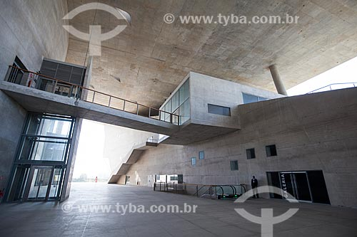 Assunto: Hall de entrada da Cidade das Artes - antiga Cidade da Música / Local: Barra da Tijuca - Rio de Janeiro (RJ) - Brasil / Data: 09/2013