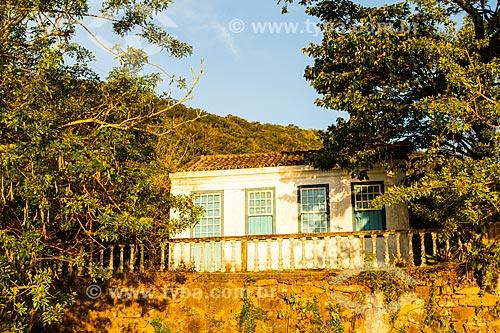 Assunto: Casa colonial na Caieira da Barra do Sul / Local: Florianópolis - Santa Catarina (SC) - Brasil / Data: 08/2013
