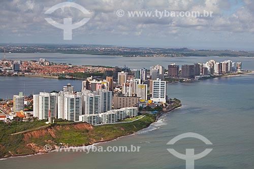 Assunto: Vista aérea da Praia de São Marcos e bairro de Ponta Dareia ao fundo / Local: São Marcos - São Luis - Maranhão (MA) - Brasil / Data: 06/2013