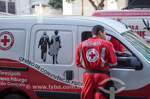 Assunto: Socorrista no desfile em comemoração ao Sete de Setembro na Avenida Presidente Vargas / Local: Centro - Rio de Janeiro (RJ) - Brasil / Data: 09/2013