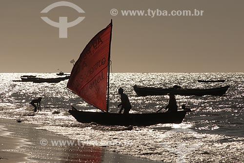 Assunto: Pescadores na Reserva Extrativista Marinha do Delta do Parnaíba / Local: Tutóia - Maranhão (MA) - Brasil / Data: 07/2010