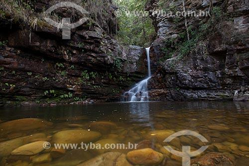 Assunto: Cachoeira da Primavera no Vale do Capão / Local: Palmeiras - Bahia (BA) - Brasil / Data: 09/2012