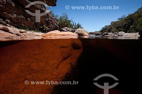 Assunto: Cachoeira Riachinho próximo ao Vale do Capão / Local: Palmeiras - Bahia (BA) - Brasil / Data: 09/2012
