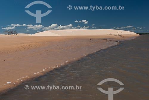 Assunto: Delta do Parnaíba próximo à Reserva Extrativista Marinha do Delta do Parnaíba / Local: Tutóia - Maranhão (MA) - Brasil / Data: 07/2010