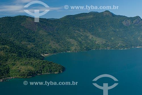Assunto: Foto aérea do Saco do Mamanguá na Área de Proteção Ambiental de Cairuçu / Local: Paraty-Mirim - Paraty - Rio de Janeiro (RJ) - Brasil / Data: 04/2011