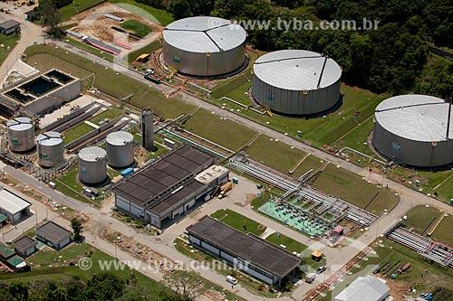 Assunto: Foto aérea do Terminal Marítimo da Baía da Ilha Grande (TEBIG) / Local: Ponta Leste - Angra dos Reis - Rio de Janeiro (RJ) - Brasil / Data: 04/2011