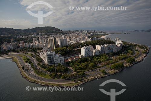 Assunto: Foto aérea do Aterro do Flamengo próximo à Casa do Estudante Universitário / Local: Flamengo - Rio de Janeiro (RJ) - Brasil / Data: 04/2011