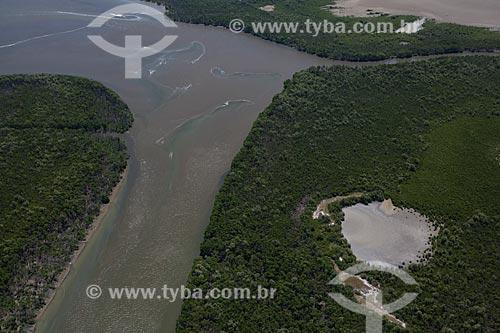 Assunto: Foto aérea da Reserva Biológica e Arqueológica de Guaratiba / Local: Guaratiba - Rio de Janeiro (RJ) - Brasil / Data: 03/2012
