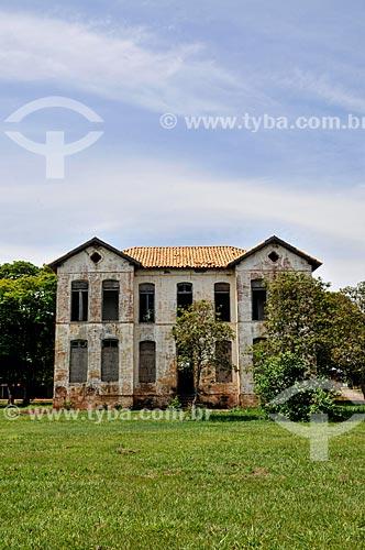 Assunto: Palácio de Dom Pedro II - Antiga construção próxima ao Rio Tietê onde Dom Pedro II costumava ficar hospedado / Local: Itapura - São Paulo (SP) - Brasil / Data: 10/2013