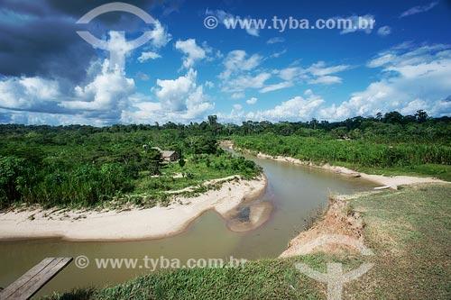 Assunto: Rio Gregório próximo à aldeia Yawanawá / Local: Acre (AC) - Brasil / Data: 04/2013