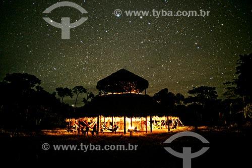 Assunto: Ritual do ayahuasca na aldeia Yawanawás / Local: Acre (AC) - Brasil / Data: 05/2013