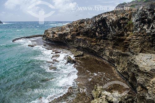 Assunto: Vista do mirante do Forte São Joaquim do Sueste / Local: Arquipélago de Fernando de Noronha - Pernambuco (PE) - Brasil / Data: 10/2013