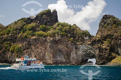Assunto: Passeio de barco na Ponta da Sapata / Local: Arquipélago de Fernando de Noronha - Pernambuco (PE) - Brasil / Data: 10/2013