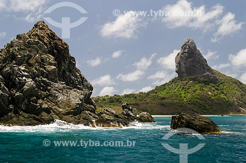 Assunto: Ilha da Conceição e Morro do Pico ao fundo / Local: Arquipélago de Fernando de Noronha - Pernambuco (PE) - Brasil / Data: 10/2013