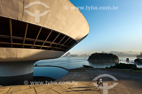 Assunto: Museu de Arte Contemporânea de Niterói (1996) / Local: Boa Viagem - Niterói - Rio de Janeiro (RJ) - Brasil / Data: 02/2012