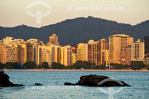 Assunto: Pôr do sol na Praia de Icaraí / Local: Icaraí - Niterói - Rio de Janeiro state (RJ) - Brasil / Data: 06/2013