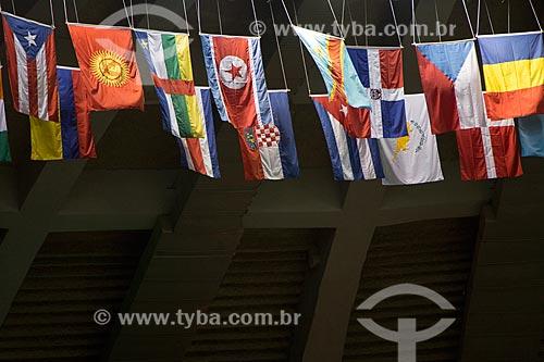 Assunto: Bandeiras de países durante o Campeonato Mundial de Judô 2013 / Local: Maracanã - Rio de Janeiro (RJ) - Brasil / Data: 09/2013
