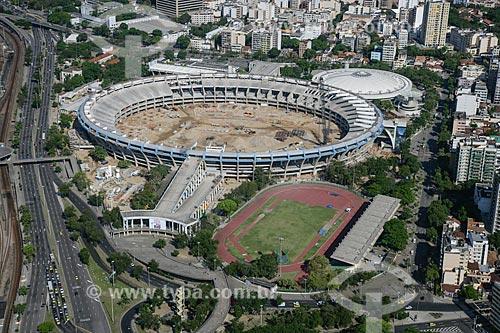 Assunto: Reforma do Estádio Jornalista Mário Filho - também conhecido como Maracanã - para a Copa do Mundo de 2014 / Local: Maracanã - Rio de Janeiro (RJ) - Brasil / Data: 11/2011