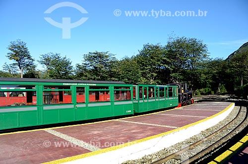 Assunto: Trem na Estação do Fim do Mundo - Trem do Fim do Mundo / Local: Ushuaia - Província Terra do Fogo - Argentina - América do Sul / Data: 01/2012