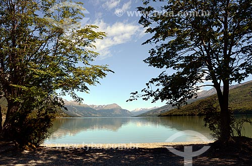 Assunto: Lago Acigami - também conhecido como Lago Roca - no Parque Nacional Tierra del Fuego / Local: Ushuaia - Província Terra do Fogo - Argentina - América do Sul / Data: 01/2012