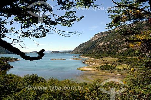 Assunto: Vista da Bahía Lapataia (Baía de Lapataia) no Parque Nacional Tierra del Fuego / Local: Ushuaia - Província Terra do Fogo - Argentina - América do Sul / Data: 01/2012