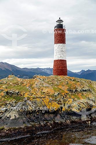 Assunto: Farol Les Eclaireurs - também conhecido como Farol do Fim do Mundo / Local: Ushuaia - Província Terra do Fogo - Argentina - América do Sul / Data: 01/2012