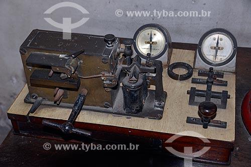 Assunto: Telégrafo no Museu do Trem (1984) / Local: Engenho de Dentro - Rio de Janeiro (RJ) - Brasil / Data: 09/2013