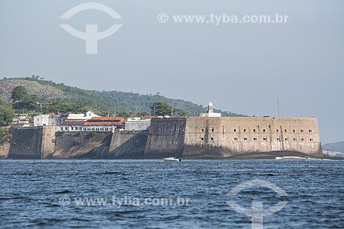Assunto: Vista da Fortaleza de Santa Cruz (1612) a partir da Baía de Guanabara / Local: Niterói - Rio de Janeiro (RJ) - Brasil / Data: 11/2013
