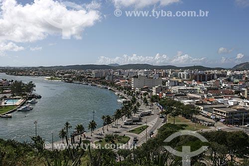 Vista panorâmica do Canal de Itajurú  - Cabo Frio - Rio de Janeiro - Brasil