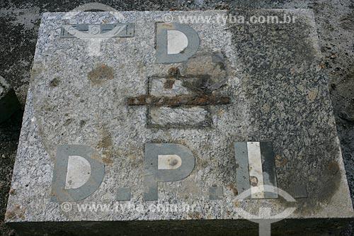 Assunto: Pedra Fundamental da Docas Dom Pedro II / Local: Rio de Janeiro (RJ) - Brasil / Data: 05/2012