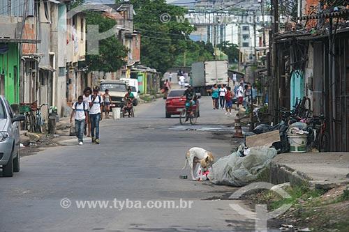 Vista de rua no Bairro de Irajá   - Rio de Janeiro - Rio de Janeiro - Brasil