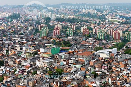 Assunto: Edifícios do condomínio João Guimarães Rosa com Rodoanel ao fundo / Local: Osasco - São Paulo (SP) - Brasil / Data: 10/2013