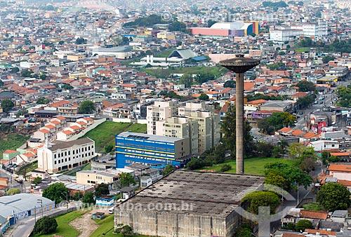 Assunto: Caixa dágua da Companhia de Saneamento Básico do Estado de São Paulo no Jardim Califórnia / Local: Osasco - São Paulo (SP) - Brasil / Data: 10/2013
