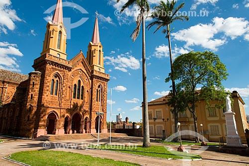 Assunto: Igreja São Domingos construída em tapiocanga por padres dominicanos / Local: Uberaba - Minas Gerais (MG) - Brasil / Data: 10/2013
