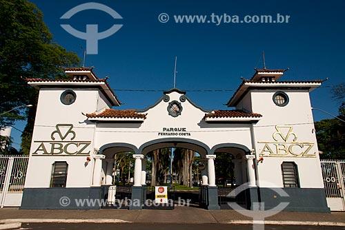 Assunto: Pórtico de entrada da ABCZ - Associação Brasileira dos Criadores de Zebu / Local: Uberaba - Minas Gerais (MG) - Brasil / Data: 10/2013