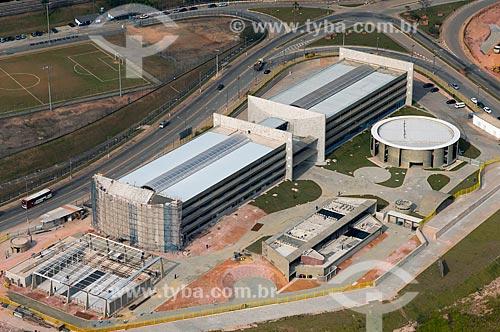 Assunto: Vista aérea da obra de construção da Faculdade de Tecnologia / Local: Itaquera - São Paulo (SP) - Brasil / Data: 06/2013
