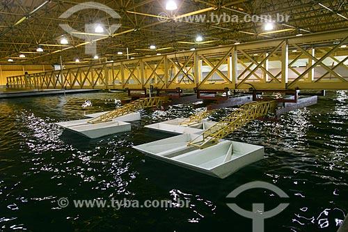 Tanque Oceânico da COPPE na Ilha do Fundão - UFRJ  - Rio de Janeiro - Rio de Janeiro - Brasil