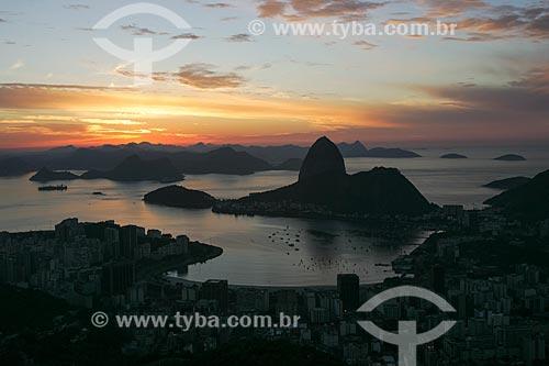 Assunto: Vista da Enseada de Botafogo / Local: Rio de Janeiro (RJ) - Brasil / Data: 11/2013