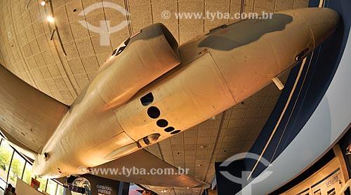 Lockheed U-2 desenvolvido em meados dos anos 1950 por Clarence Kelly Johnson e sua equipe está no Museu do Ar e Espaço do Instituto Smithsoniano - Possui a maior coleção de aeronaves e naves espaciais de todo o mundo  - Estados Unidos