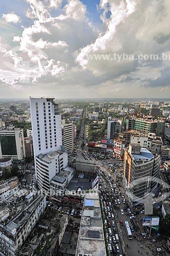 Assunto: Vista aérea de Daca / Local: Daca - Bangladesh - Ásia / Data: 07/2013