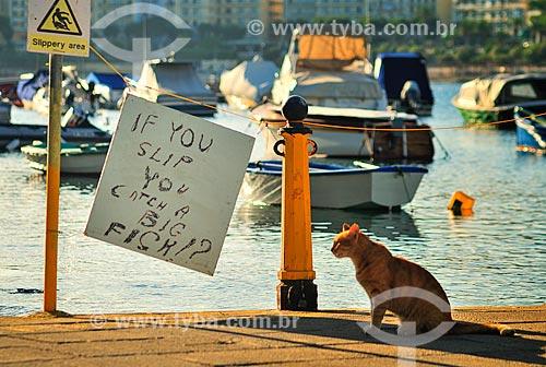 Assunto: Barcos atracados na Marina  / Local: República de Malta - Europa / Data: 09/2013