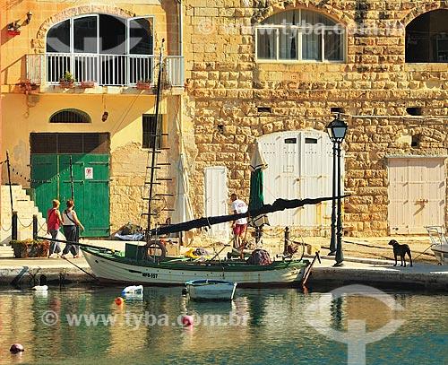 Assunto: Vista de embarcação / Local: República de Malta - Europa / Data: 09/2013