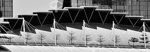 Assunto: Detalhe de arquitetura do Hotel Marina Bay Sands / Local: República de Cingapura - Ásia / Data: 03/2013