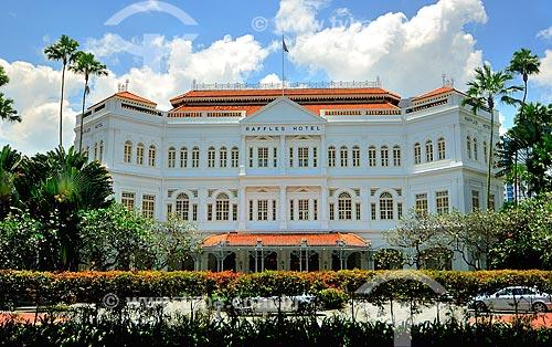Assunto: Hotel Raffles / Local: República de Cingapura - Ásia / Data: 03/2013