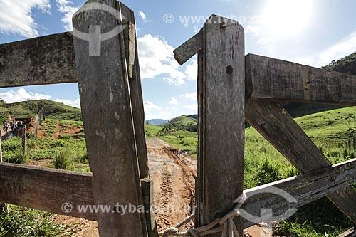 Assunto: Entrada de fazenda na Serra da Bocaina / Local: Bananal - São Paulo (SP) - Brasil / Data: 11/2013