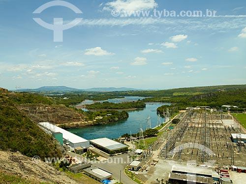 Assunto: Substação da Usina Hidrelétrica de Furnas / Local: São José da Barra - Minas Gerais (MG) - Brasil / Data: 12/2013
