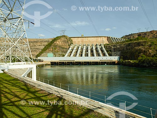 Assunto: Casa de força da Usina Hidrelétrica de Furnas / Local: São José da Barra - Minas Gerais (MG) - Brasil / Data: 12/2013